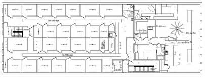 Storage Building Floor Plans by Self Storage Building Designs Plans Free Download