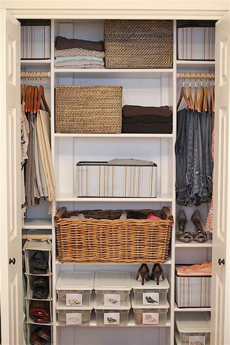 Wardrobe Storage Baskets by Closet Redesign The Plan