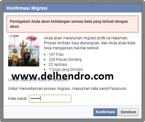 cara membuat akun facebook menjadi verified cara merubah akun facebook menjadi fanspage pengetahuan