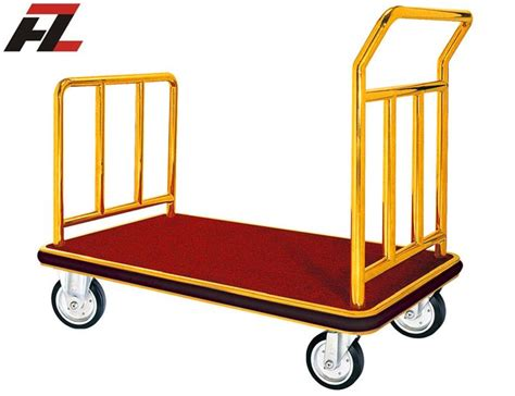 Valet De Cheminée 2514 by Titanium Gold Stainless Steel Luggage Handtruck For