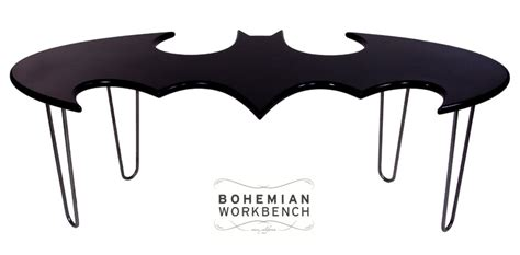 batman coffee table don t be a joker use a coaster