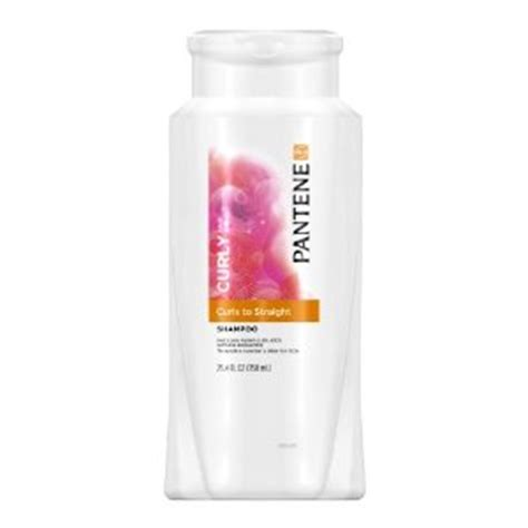 influence hair products reviews pantene pro v curly hair series curly to straight shoo