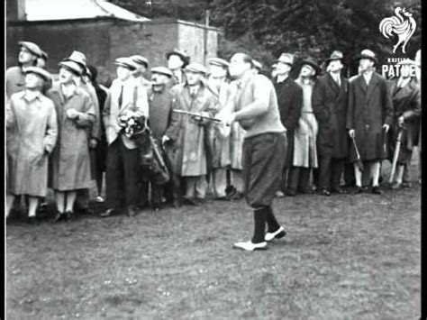 walter hagen golf swing walter hagen 1928 youtube