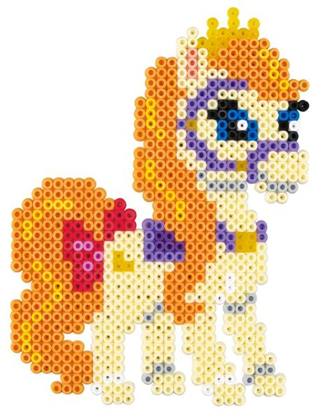 bead pet patterns rapunzel palace pets 7943 hama perler disney