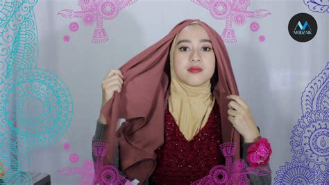 Tutorial Hijab Wolfis | tutorial hijab moozaik wolfis youtube