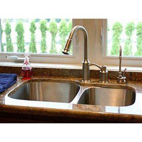 60 40 kitchen sink 31 inch stainless steel undermount 60 40 bowl