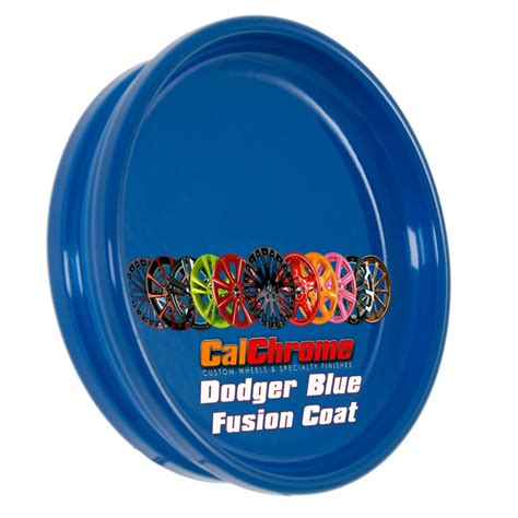 dodger blue fusion powder coat wheels rims accessories california chrome wheel calchrome