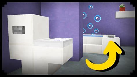 minecraft     working bathroom youtube