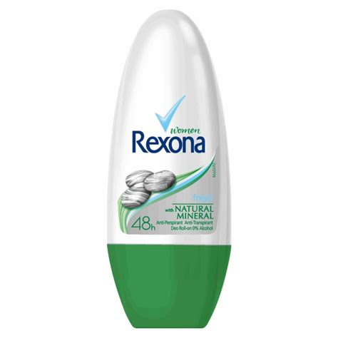 Rexona Roll On Naturals Deodorant Wanita Rexona rexona mineral fresh roll on 50 ml 163 1 25