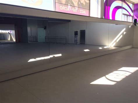 Ballet Flooring by Wall Mounted Glassless Mirror En Pointe Enterprises