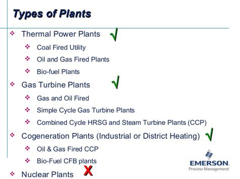 3 types of power emerson power plant applications