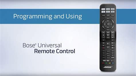 bose cinemate universal remote programing   doovi