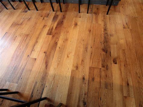 free form figured white oak edge reclaimed project tria wine bar reclaimed oak flooring resawn timber co