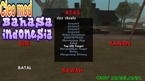 game android mod bahasa indonesia cara menambahkan cleo mod bahasa indonesia gta sa android