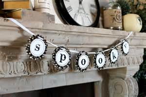 Doormat That Says Leave Black And White Halloween Decorating Ideas Diy Network