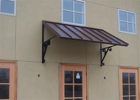 Steel Window Awnings by The Classic Gallery Metal Awnings Projects Gallery