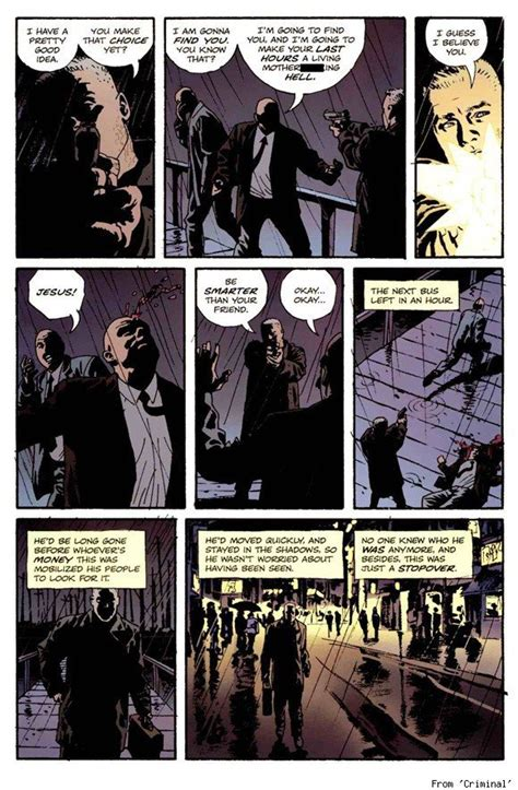 Can You Go Into The With A Criminal Record Digital Comicsalliance Spotlight On Ed Brubaker Phillips Everything You Need