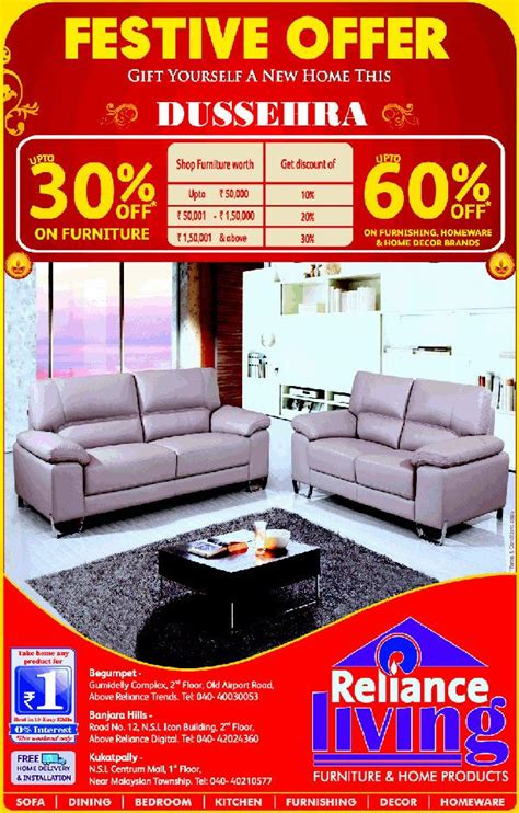 reliance living hyderabad store outlets deals sales 2018