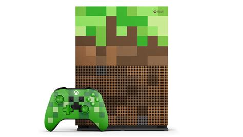 minecraft console xbox one s minecraft limited edition bundle 1tb xbox