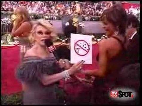 Joan Rivers Replaced By Rinna On Carpet by Joan Rivers Rates Rinna S