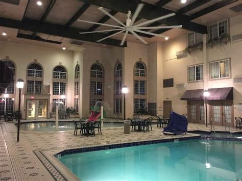 poolside picture of comfort suites milwaukee airport