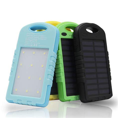 Power Bank Solar Charger 20 Pieces Led Ls 168000mah 5000mah solar power bank portable external battery charger