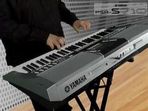 tutorial keyboard yamaha psr s910 michel voncken und das psr s710 psr s910 youtube
