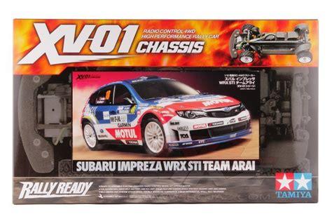 Diskon Tamiya 1 10 Xv 01 Subaru Xv Ep 58562 tamiya 58528 1 10 r c subaru impreza wrx sti team arai