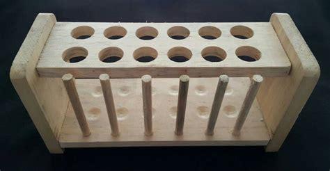 Rak Tabung Reaksi jual rak tabung reaksi kayu 12 lubang tonny s store
