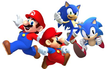Mario and Sonic Generations by Banjo2015 on DeviantArt