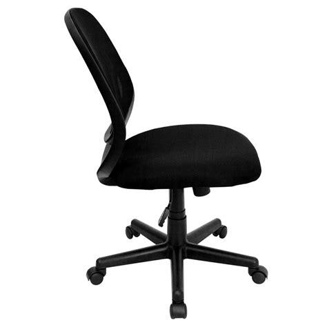 Flash Furniture Mid Back Black Mesh Computer Chair by Flash Furniture Y Go Mid Back Black Mesh Computer Task
