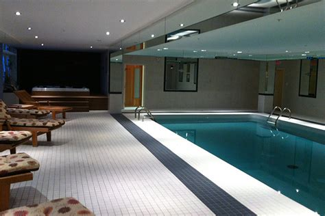 luxury interior pool area montreal outdoor living