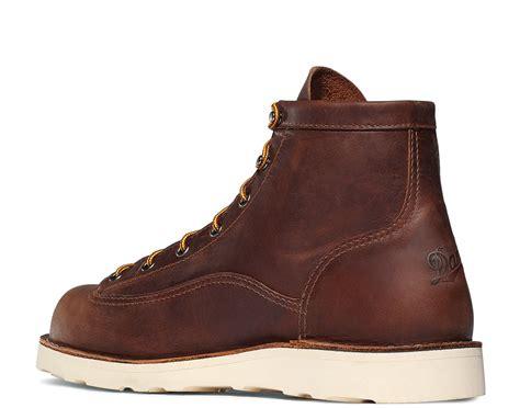 danner steel toe boots danner bull run 6 inch steel toe work boot 15554