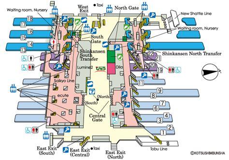 jr east guide maps for major stations omiya station