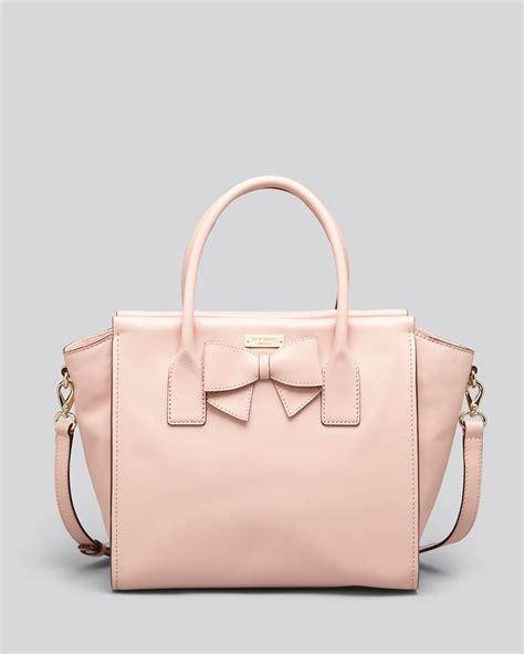 Kate Spade Pink kate spade satchel hanover charee in pink pink granite lyst