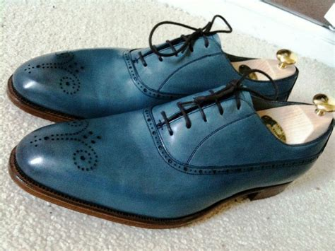 an ode to blue dress shoes the shoe snob