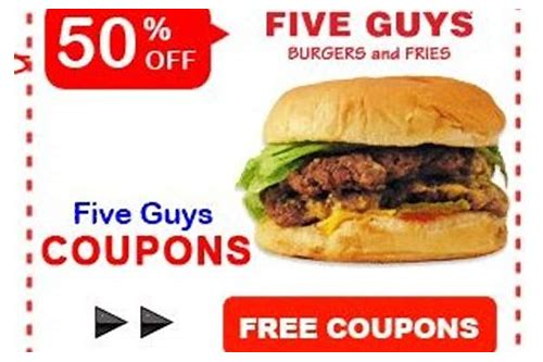 five guy deals