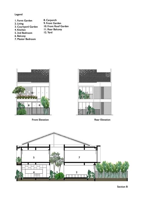 Plan De Maison Avec Patio Central by Maison Avec Patio Et Arbre D Int 233 Rieur Par O2 Design Atelier