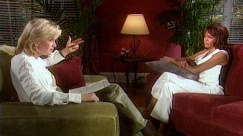 whitney houston and diane sawyer interview whitney houston talks to diane sawyer about drug addiction