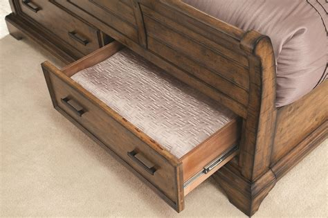sleigh bed with drawers elk grove california king sleigh bed with 2 drawers
