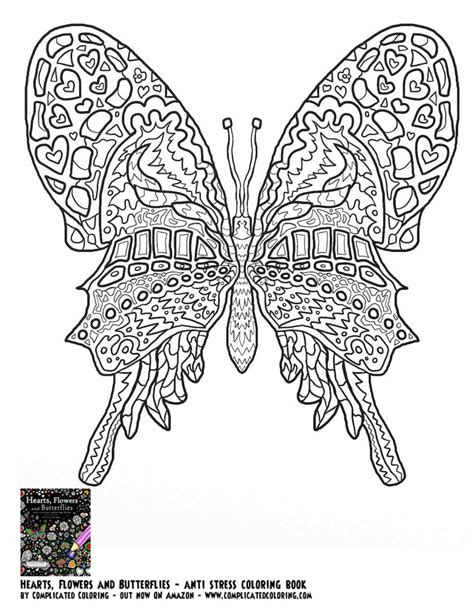 Coloring Pages Plicated Butterfly Coloring Pages Coloring Butterfly Coloring Pages For Adults