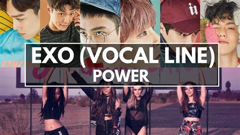 exo vocal line how would exo vocal line sing little mix quot power quot youtube