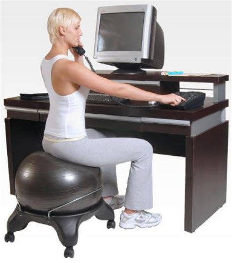 swiss ball desk chair swiss ergonomic balance ball chair
