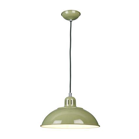 Green Ceiling Lights Green Painted Metal Ceiling Pendant Light In Vintage 1950 S Design