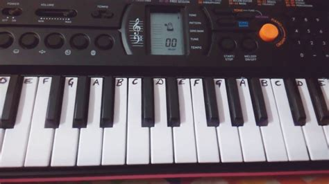 Tutorial For Casio Keyboard | shape of you ed sheeran keyboard piano casio cover easy