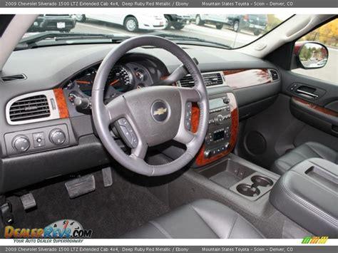 2009 Chevy Silverado Interior by Interior 2009 Chevrolet Silverado 1500 Ltz