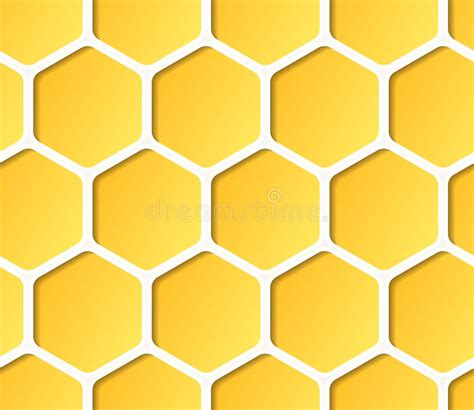 honeycomb pattern corel draw vector seamless vector sweet honeycomb pattern stock illustration