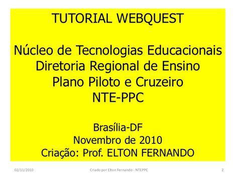 tutorial de webquest pdf com tutorial passo a passo webquest