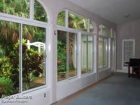 Windows For Patio Enclosures by Oviedo Lanai Enclosure With Glass Windows Interior