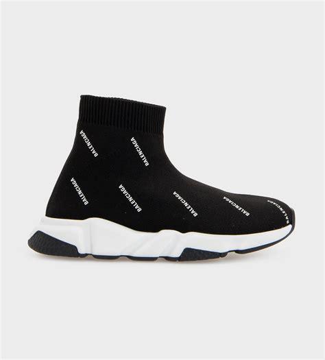 balenciaga speed sock sneakers azzurro